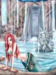 Adv. in Tomb Raiding 3,mermaid by veika