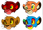 Tlk cub Adopts by ZombieCookieEater14