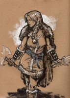 Drink n Draw Valkyrie by robthesentinel