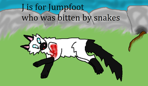 J is for Jumpfoot by Ask-Weaselfur