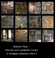 Texture Pack - Computer inners by rockgem