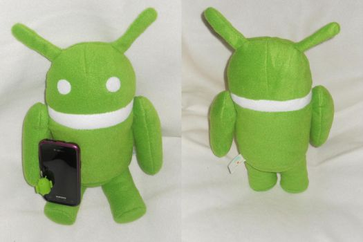 Awesome Android by PlushPrincess