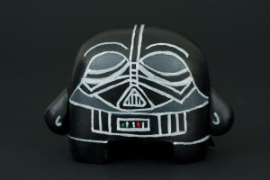 Darth Vader Front by karmabomb1