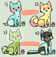 10 point space dog adoptables  Closed by MagisterAdopts