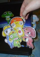 Sgt Frog Paper Childs by Sutata