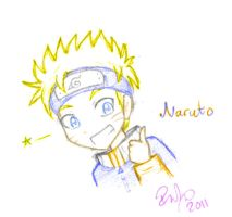 Naruto Sketch by firehorse6