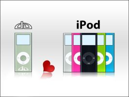 DA iPOD Nano by mykalromero