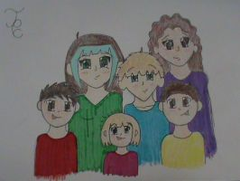 Family Portrait by Ice-Toa-Lover