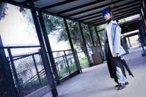 Though the halls - IB Kaito by KeiTsubasa