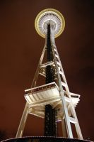 Looking up at the Needle by Bspacewiz2