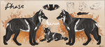 Faded Black Wolf USD Auction - CLOSED by Hlaorith