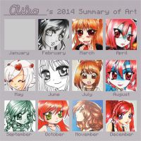 ::2014 - art summary:: by oliko