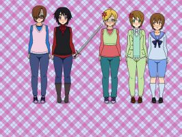 1P!Nordics in 3P!Nordics bodies by alenka-loves-you