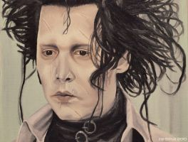 Johnny Depp - Edward 2 by shaman-art