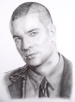 Mark Salling - Puck from Glee by grohlsguitar