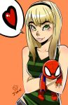 Gwen Stacy Loves Spider-Man by kentaropjj