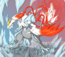 Fire and Ice (Powered up) by Trinity-Reido