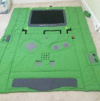Gameboy Quilt by Huntress-noko