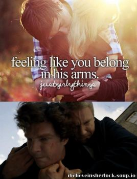 Feeling like you belong in his arms by Aine0686