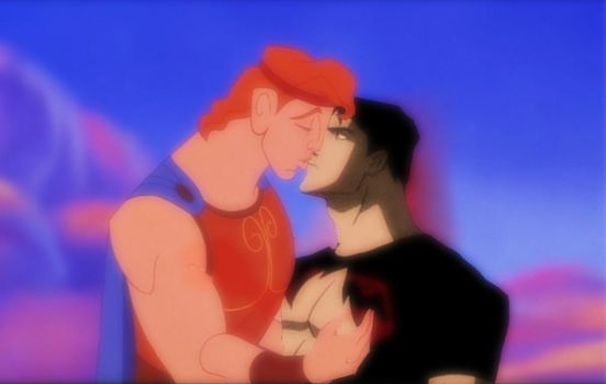 Hercules x Superboy [DC Comics x Disney] by oliverespectro