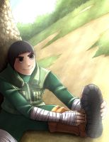 Rock Lee by PumpkinDanko