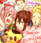 22k likes. THANK YOU!! by Cygnetzzz