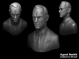 Agent Smith in Zbrush by d-art-studios