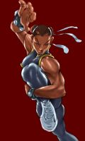 Chun Li - Locked and Loaded by jmont