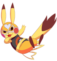 [Pokemon] - Pika Libre by Riboo