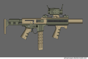 Saggitaire SMG by Robbe25
