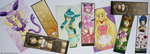 Prints and Bookmark EXAMPLES by izka197