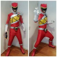 Kyoryu Red Cos by darrentpART