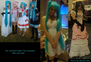 Cosplay Check: Vocaloid by Rhythm-Wily