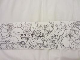 Studio Ghibli board by SkippertheNewt