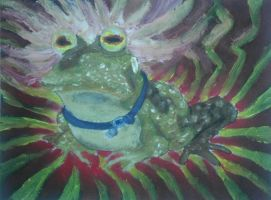 Check out this oil pai- ALL GLORY TO THE HYPNOTOAD by QuixoticouS