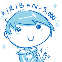 Kiriban - 5,000 by more-or--less