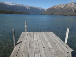 New Zealand 2014- lake 1 by Carlie-NuclearZombie