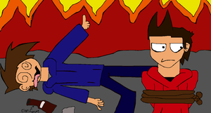 Tord and Tom fail.. by Unseen1026