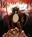Battle Bear by Lizzidoll
