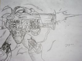 Terran Marine by Wardog11195