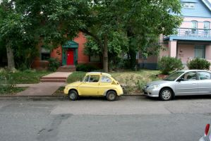you call that a compact car? by PowFlip