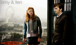 Doctor Who: Amy Pond - Tenth Doctor Poster by feel-inspired
