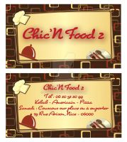 Chic'n'Food Carte Visite 4 by Fnayou