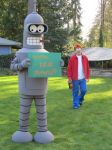 Bender Futurama Costume Cosplay by OlyRider