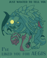 DOTA 2 Valentines - Roshan by swift-whippet