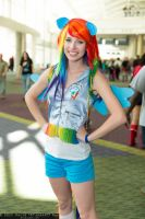 Megacon - Rainbow Dash by MeganCoffey