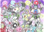 Autobot Male Strippers. by blackhellcat