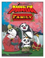 Kung Fu Panda Family by momarkey