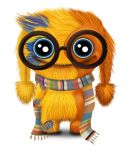 Geeky monster by MistyRoxy