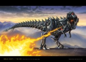TF RotF-style Grimlock Concept by JasonCardy